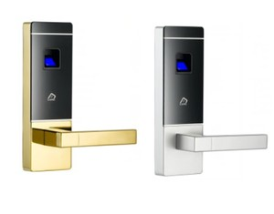 Indoor smart door lock fingerprint card biometric fingerprint door lock
