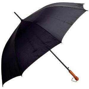"""Best Quality All-Weather 60"""" Umbrella-Black By All-Weather&trade Elite Series 60&quot Auto Open Golf Umbrella"""