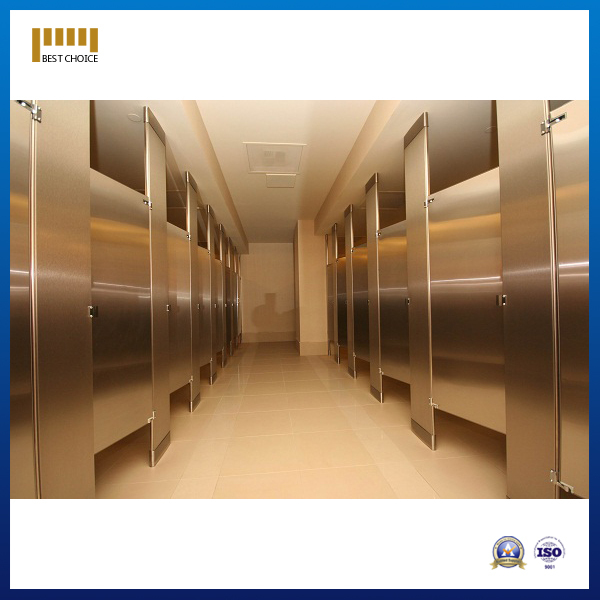 Public toilet partitions fiber cement board partition for Stainless steel bathroom partitions