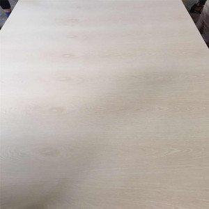 Thin Engineered White Oak Wood Veneer Mdf Sheets for Decoration Face Skins
