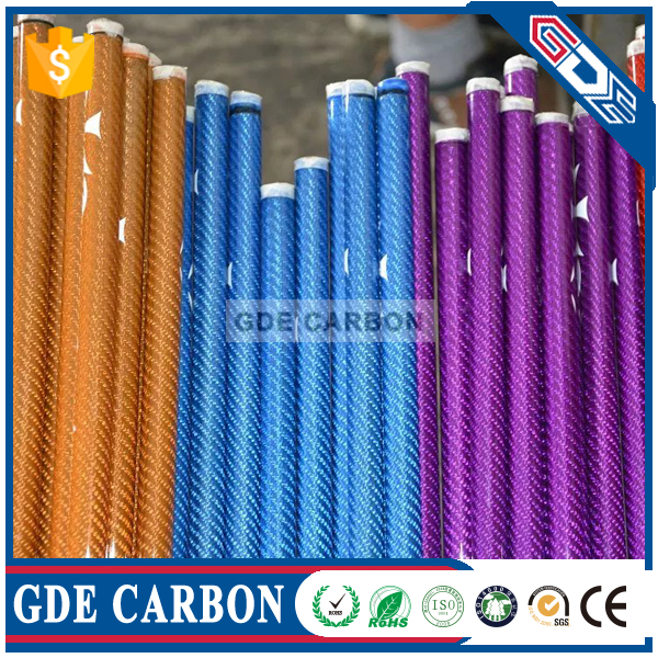 Price Of Matte GDE carbon fiber telescopic tube connectors for sale