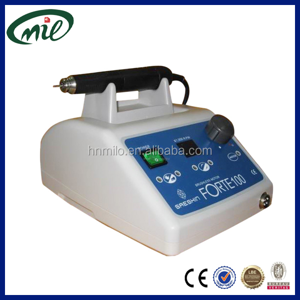 Excellent durability surgical motor handpiece spare parts forte100 dental lab electric micromotor
