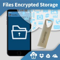 Easy, risk-free files/ photos/ video encrypted storage