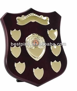 Sports Champion Wooden Plaque Trophy Shields