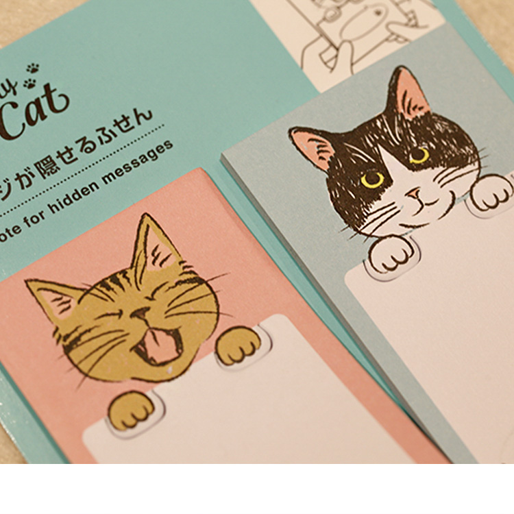Custom design fashion personalized memo pads with best service and low price