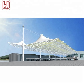Steel Structure Car Parking Shed Roof Design Buy Steel Structure