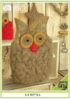 Woolen owl decor