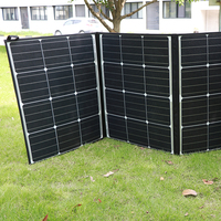 325w flexible portable 72 cell panel solar charger