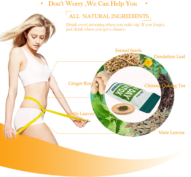 OEM Chinese Natural Herb Private Label Slimming 14 Day Detox Tea - 4uTea | 4uTea.com