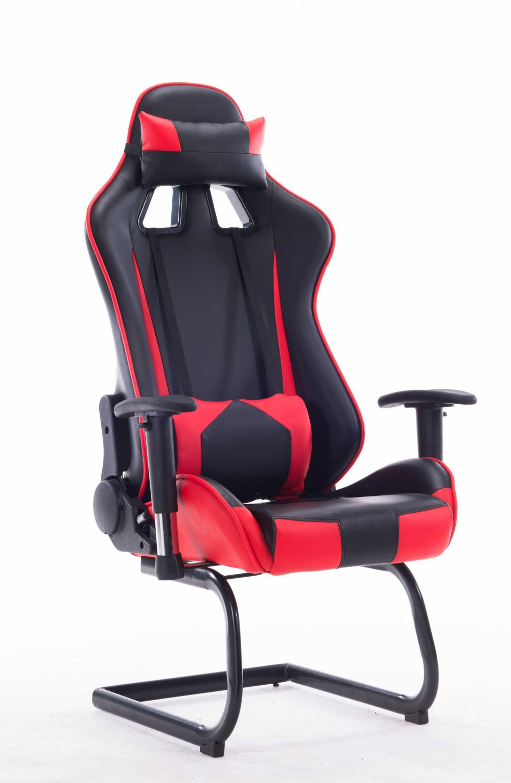 Workwell Racing Office Car Chair Gaming Chair Bucket Seat Iron Structure  Multifunction Bucket Seat Chair QO