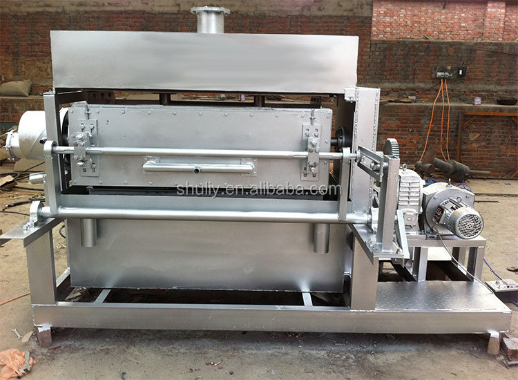 small semi-automatic paper recycling egg tray making machine prices