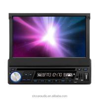 7inch Retractable 1Din DVD Car player FM/AM Radio
