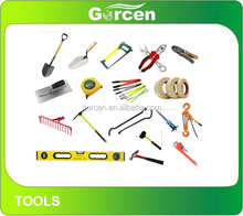 GG1001 Hand tools and equipments for construction