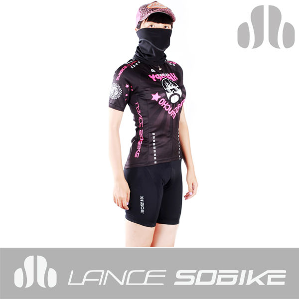 2014 Lance sobike soomom women's fit OEM jerseys women cycling jersey couples cycling jersey