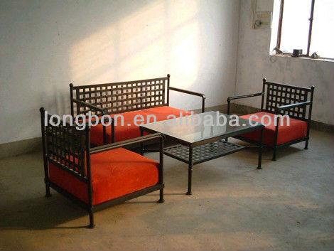 top- verkauf classic schmiedeeisernen tisch und stühlen, Esszimmer dekoo
