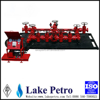API 16C High Quality hydraulic Choke and Kill Manifold for Oil Well Control