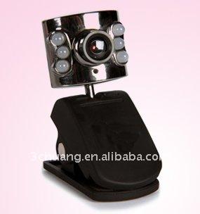 Web Camera Sc-713 With 6 Led
