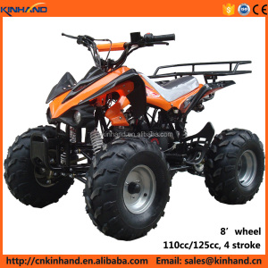 Factory wholesale 125cc 4 stroke gasoline small mars ATV