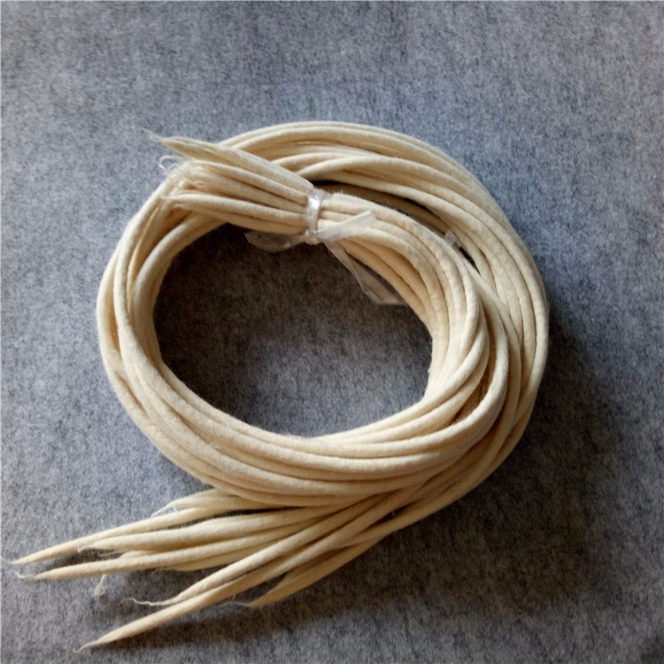 Wholesale Wool Felt Cord String Rope Strips For Oil