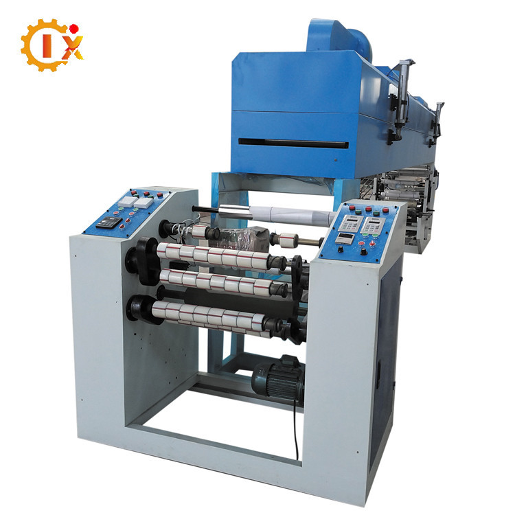 GL-500D High productivity carton tube bopp adhesive tape coating machine china design