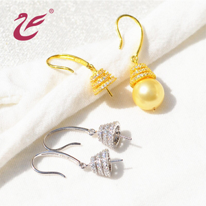 wholesale custom 925 sterling silver earring hooks