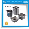"1/6*8"" TT-816-8 New Product Kitchen Equipment Hotel Stainless Steel Steam GN Pan"