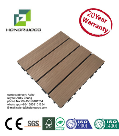 2017 hot sale high quality weather resistance durable wood plastic composite WPC outdoor Co-extrusion decking floor board