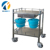 AC-SST017 hot sale medical supplies wholesale stainless steel hospital medical trolley