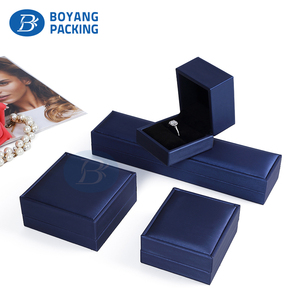 Factory Directly Custom my Logo plastic italian Necklace ring Bracelets Jewelry set Packaging Box