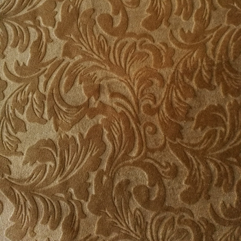 China Direct Textiles Factory 100 Polyester Embossed Velvet