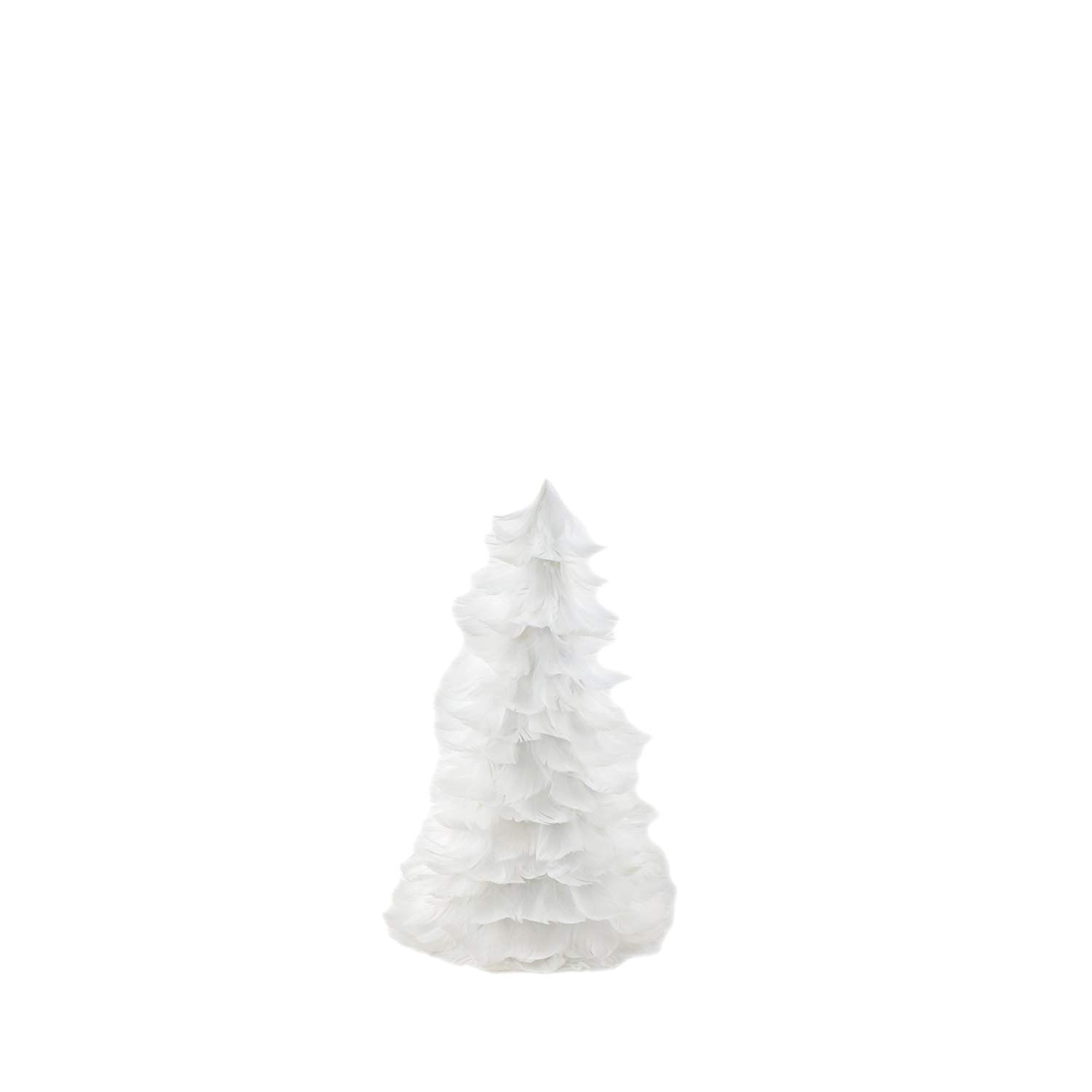 get quotations zucker goose coquille feather christmas tree 12 white