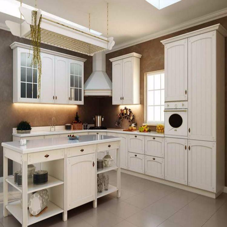 Ethiopian New Furniture White Ash Kitchen Cabinet Set ...