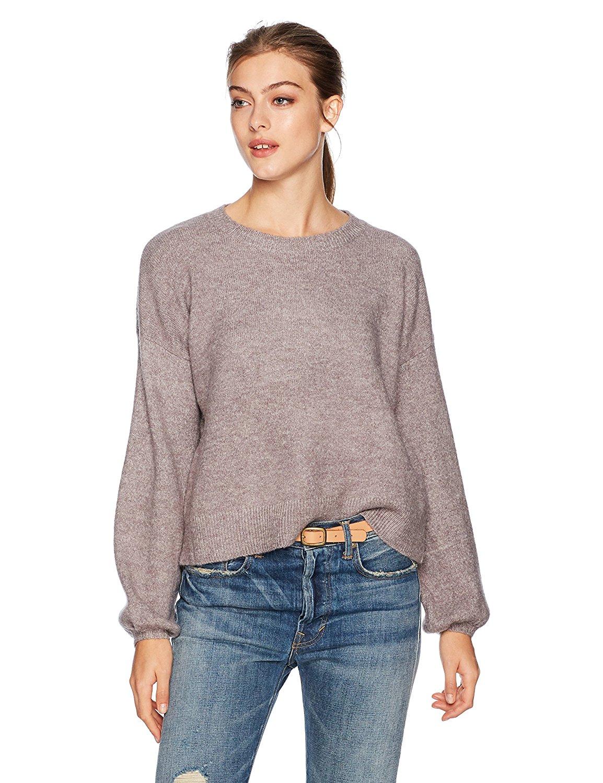 3adc4cefc9cda1 Get Quotations · MINKPINK Women s Willow Blouson Sleeve Oversized Jumper  Sweater