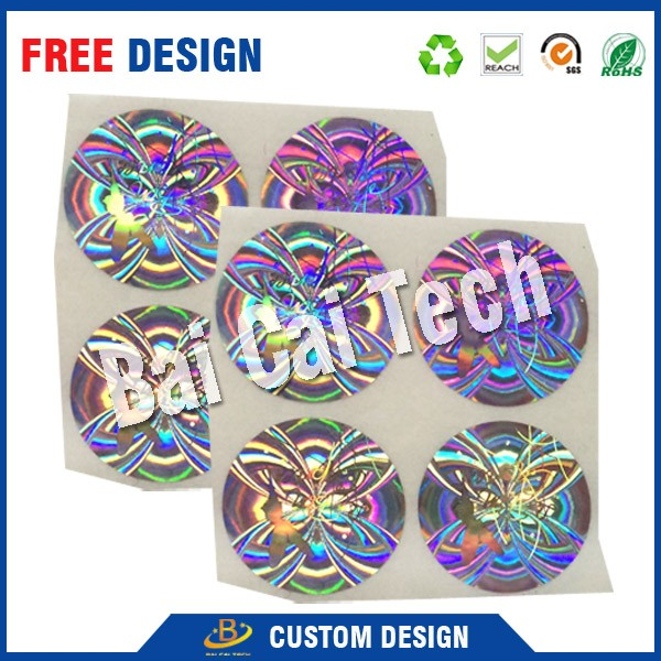 High quality cheap price anti-counterfeit 3m 3d hologram logistics packing stickers