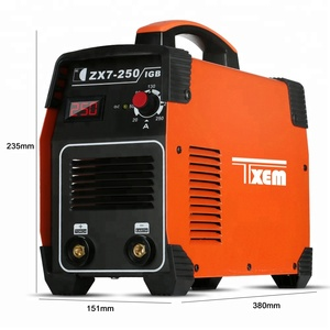 ZX7-250D IGBT 220V 110V MMA ARC Welder ZX7-200 200A DC Inverter Portable Stick Welding