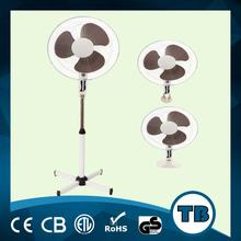 3 in 1 16 inch stand fan with round, cross base