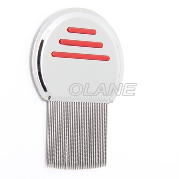 Stainless steel lice comb remove lice nit flea eggs