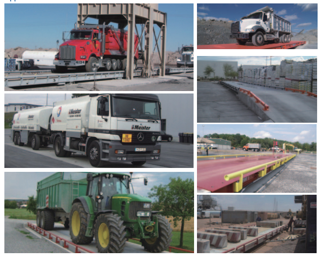 Heavy Duty Trailer Ground Scale,Cargo 20 Tons 40 Ton 60 Tons Weighing Scale