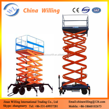 4m Hydraulic Lifter/scissor Lift Machine/hydraulic Lift Equipment - Buy  Hydraulic Lift Equipment,Scissor Lift Machine,4m Hydraulic Lifter Product  on