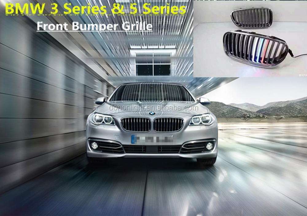 High Quality Cool looking 3 Series F30 F35 Front Grilles Carbon Fiber ABS Materials 5 Series F10 F18 Car Grille