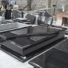 Tombstone Price Tombstone Prices Polished Shanxi Black Granite Grave Tombstone With Price