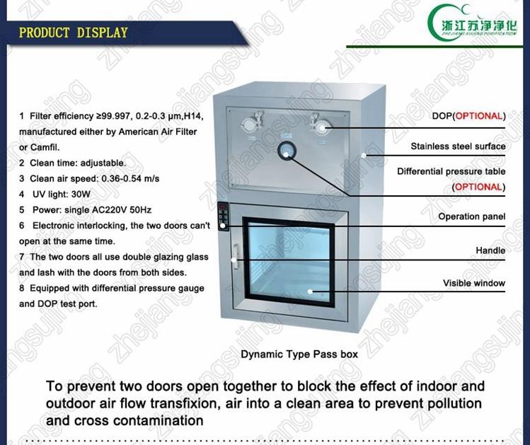 Dynamic Type Cleanroom Pass Box Buy Cleanroom Pass Box