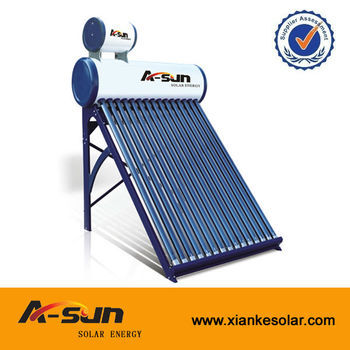 High Quality Low Pressure Solar Hot Water Heater System With Feeder ...