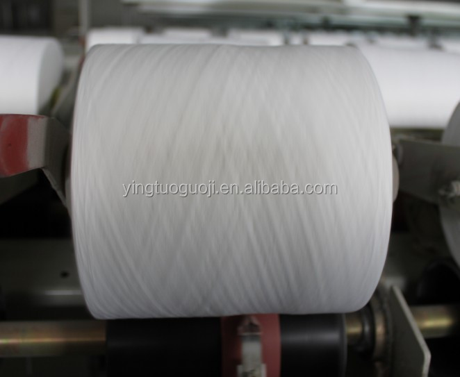 polyester 40/2 ring spun yarn price by YINGTUO COMPANY