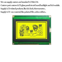 Custom Graphic LCD module 128x64 for clock display