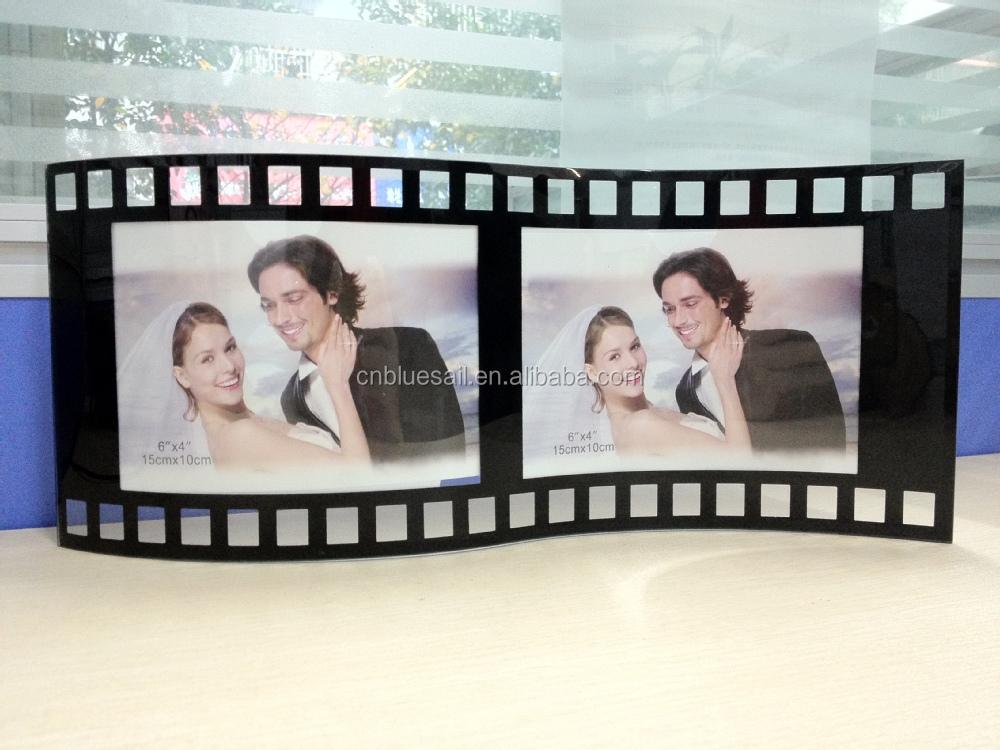 10 15 dubbele gebogen glas fotolijst buigen glas fotolijst s vorm gt glas fotolijst. Black Bedroom Furniture Sets. Home Design Ideas