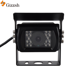 Truck /Bus /Trailer 18pcs LED light night vision sony CCD image sensor HD car rear view reversing camera