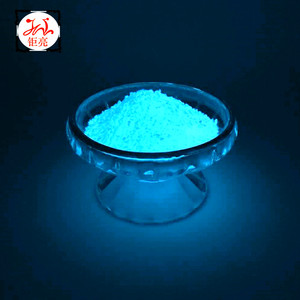 Photoluminescent pigment and Luminous powder and fluorescent pigment