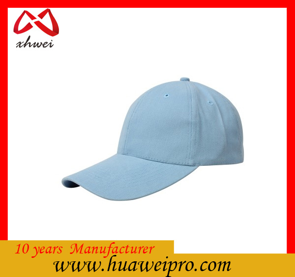 China supplier OEM hat wholesale custom 6 Panel 100% cotton blank sport baseball cap and hat