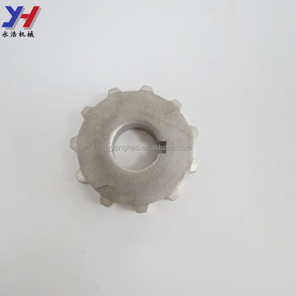 OEM ODM Custom Fabrication of CNC Machined Stainless Steel 304 316 Crown Wheel Pinion Gear for Motorcycle Transmission